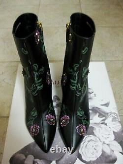 $1545 Valentino Garavani Undercover Ringstud 70mm Boots 39.5 Rose Lip Rockstuds