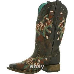 Corral Womens A3970 Brown Cowboy, Western Boots Shoes 7 Medium (B, M) BHFO 2555