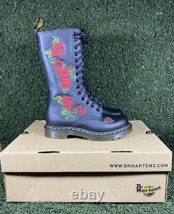 Dr. Martens Doc 1914 Vonda Women's 14 Eyelet Boots Softy T Size 3 New Boxed
