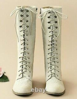 Joyfolie Girl's Indy Lace Up Leather Boot Size 6 Youth