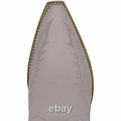 L 051-2 Old Gringo Vegas Dusty Rose Embroidered 10 Boots