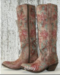 Liberty Black Sixties Cowgirl Boots 8.5