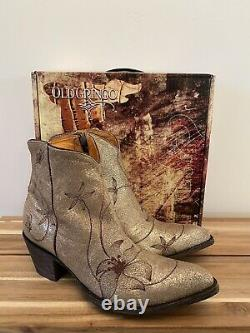 New Old Gringo Flora Loca Ankle Boots Size 10