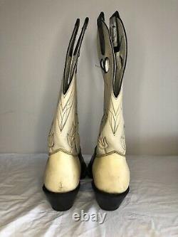 Olathe Rough Stock Boot Black Mule 2029 cowboy boot rawhide 12A 001808 225 2028