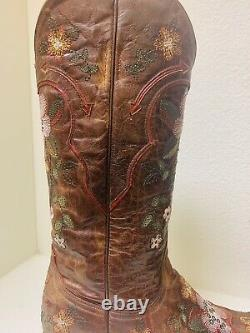 Old Gringo Embroidered Boot Sz 8.5