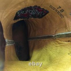 Old Gringo Flower Cowboy Boots Womens 7 B