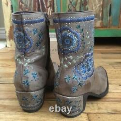 Old Gringo Hellish Drought Ankle Boots 8