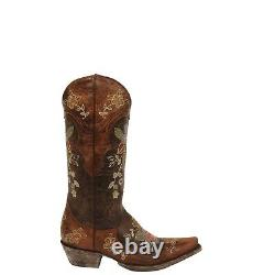 Old Gringo Ladies Bonnie 13 Sniped Toe Western Boots Brown L649-1