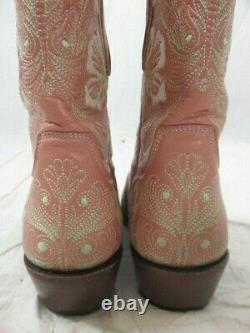 The Old Gringo Pink Floral Embroidered Cowboy Boot Size 7B