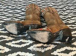 Women's Old Gringo Made in Mexico Floral Cowboy Boot Size 7 B