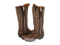 Womens Zippered Cowboy Boot Star by Old Gringo Boots 7 1/2 B Razz Style