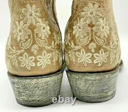 Yippee Ki Yay Kiyay Old Gringo Womens Size 8B Eveleight 10 Bone Boots Western