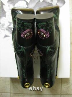 $1545 Valentino Garavani Undercover Ringstud Bottes 70mm 39.5 Rose Lip Rockstuds