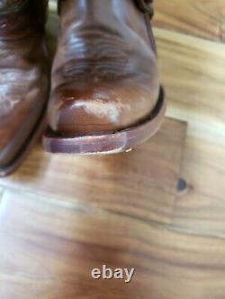 Bottes Corral G1907 Dames Saltillo Golden Brown Cuir Western Harnais Fixe