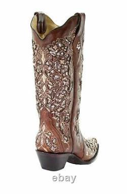 Bottes D'orteils Brodées À L'aide De Paillettes Coralliennes Pour Femmes A3671