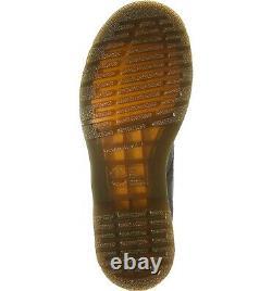 Chaussures Pour Femmes Dr. Martens 1460 Vonda 8 Eye Floral Leather Boots 24722001 Noir