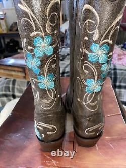 Circle G Femmes Cowboy Bottes Taille 10 Nouveau Avec Boîte