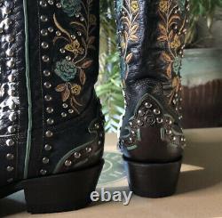 Double D Ranch Round Up Rosie Boot Par Old Gringo
