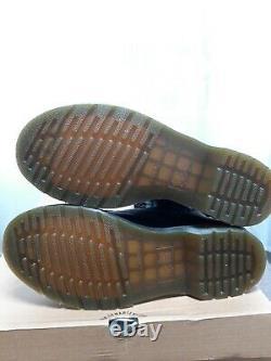 Dr Martens 1914 Vonda II Taille Des Bottes Zippées À 14 Yeux Royaume-uni 7 Ue 41