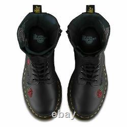 Dr Martens Ladies 14 Eyelet 1914 Vonda Boot Black Softy T 12761001