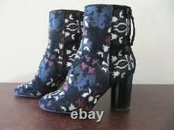 Isabel Marant Black Suede Brodé Guya Booties, Taille 7