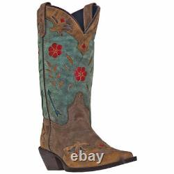 Laredo 52138 Femmes Miss Kate 11 Floral Embroidered Cowboy Boot
