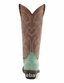 Miss Macie Femmes Turquoise Pure Prairie U6004-02 Snip Cowgirl Boot T.n.-o. 6,5-10m
