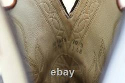 Olathe Cowboy Boots Rawhide Taille 10d