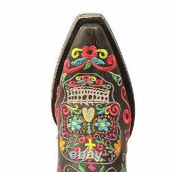 Old Gringo Klak Femmes Bottes Noir L1300-1