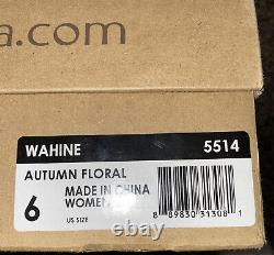 Ugg Wahine Femmes Taille 6 Broderies Florales Bottes De Cisaillement 5514
