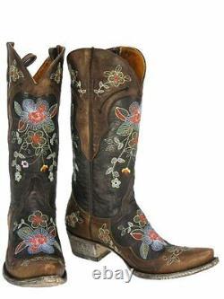 Vieilles Bottes De Cowboy Pour Femmes Gringo Bonnie L649