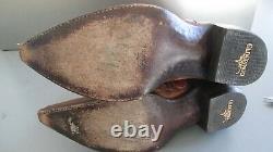 Vieux Gringo Cowboy Western Cowgirl Two Tone Leather Boots 7.5 Réduit